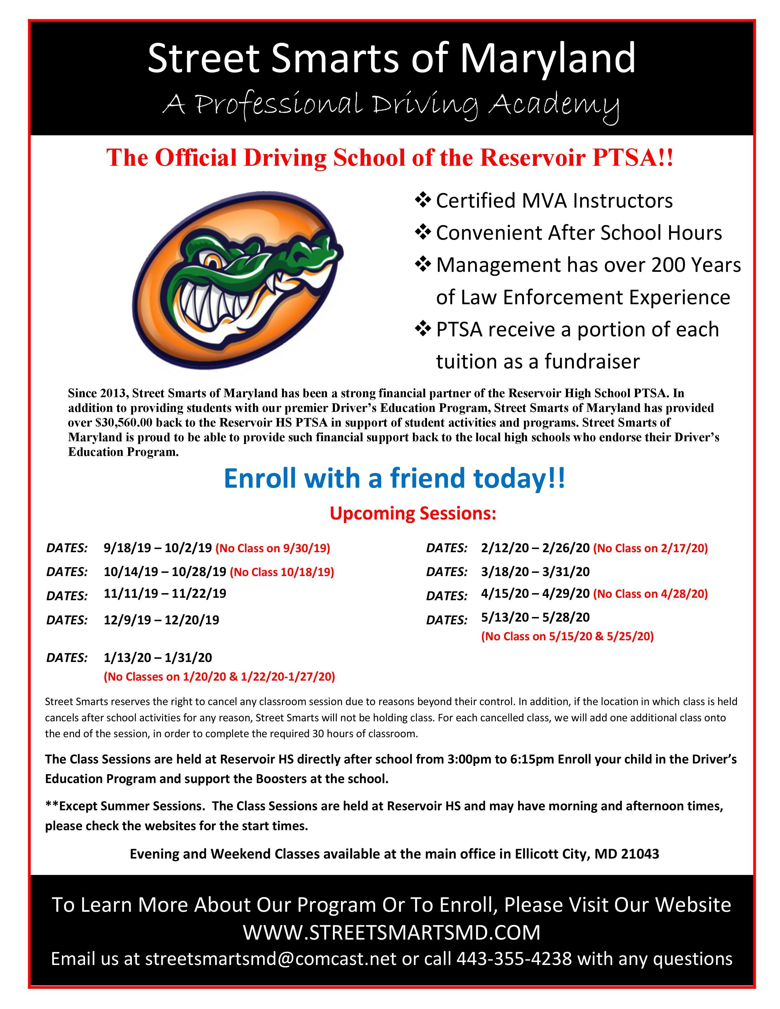 RHS_Street_Smarts_Drivers_Ed_Flyer